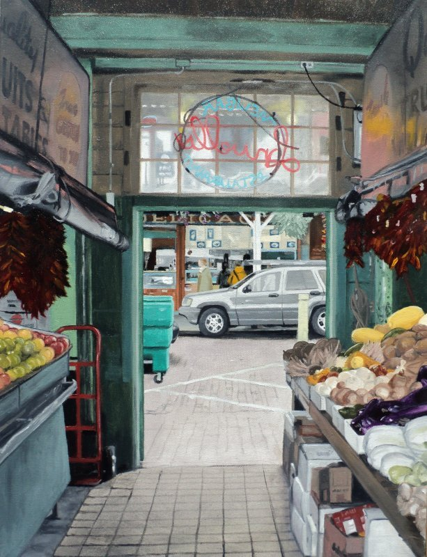 Pike Place Produce 18x24--2011